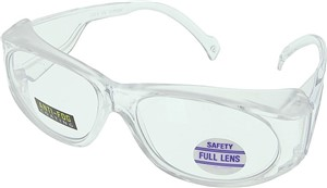 MAG 1.0 SAFETY READER GLASSES CLEAR