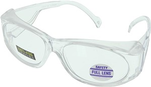 MAG 2.5 SAFETY READER GLASSES CLEAR